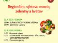 Regionálna výstava ovocia, zeleniny a kvetov 1